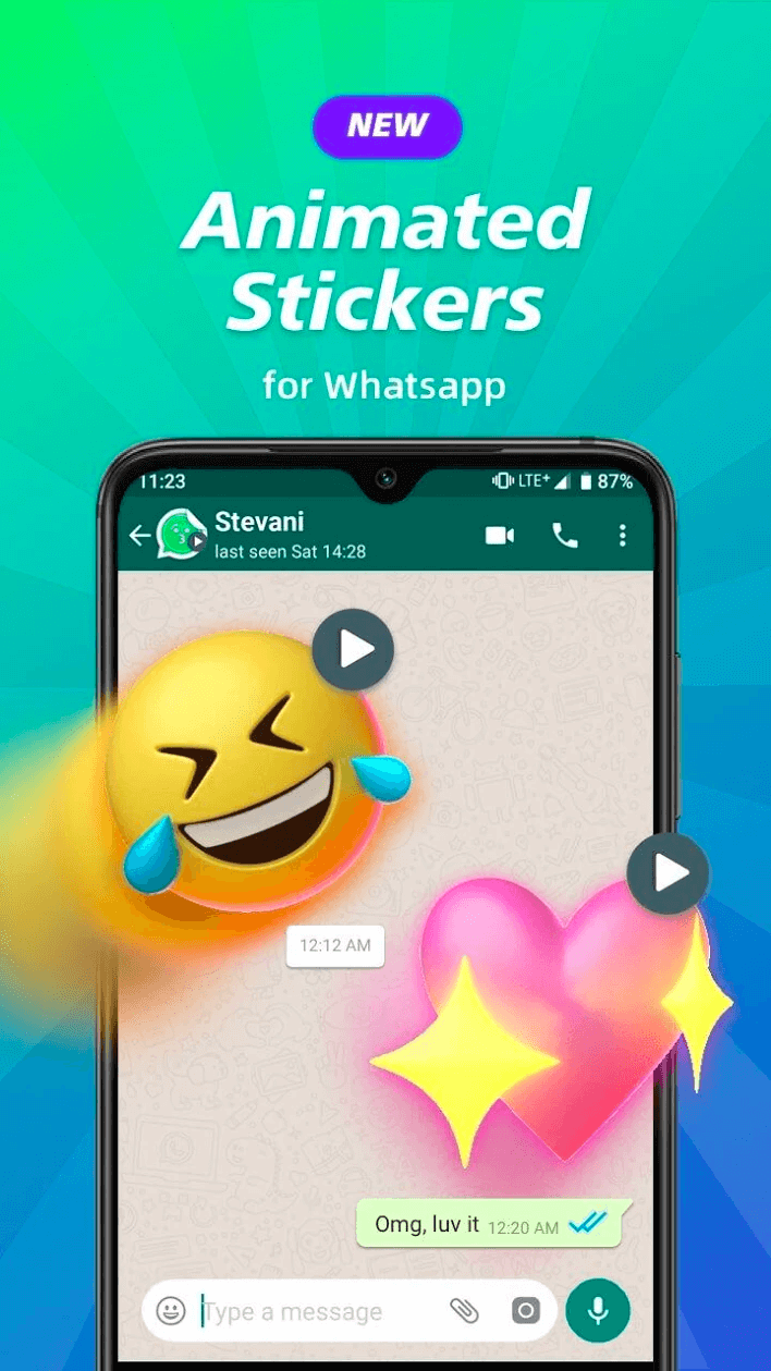 Animated Sticker Maker For Whatsapp